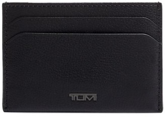 Tumi Nassau SLG Leather Money Clip Card Case