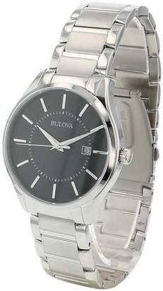 Bulova Classic Standard Stainless Steel Bracelet Watch