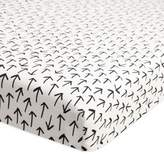 Babyletto Tuxedo Arrows Fitted Mini Crib Sheet