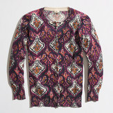 J.Crew Factory Factory Clare cardigan in paisley