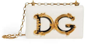 Dolce & Gabbana Leather Girls Cross-Body Bag