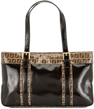 Fendi Pre-Owned Zucchino detailing tote bag