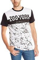 Zoo York Men's Zoo Hybrid Crew Short Sleeve Shirt