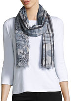 Lord & Taylor Floral Paisley Scarf