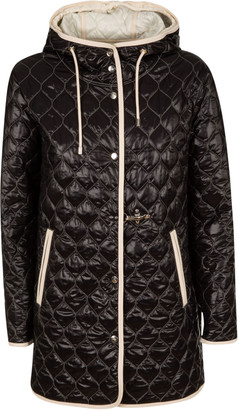 Fay Large Hood Quilted Jacket