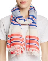 Echo Sheer Stripe Pareo Scarf