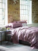 House of Fraser Gingerlily Silk double fitted sheet Pink