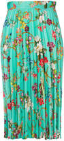 Pinko pleated floral skirt