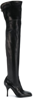 Ermanno Scervino Thigh High Boots