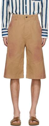 Jacquemus Tan Le Short Terraio Shorts