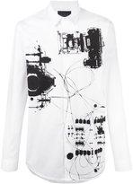 Diesel Black Gold X-Ray print shirt