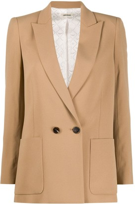 Zadig & Voltaire Double-Breasted Blazer