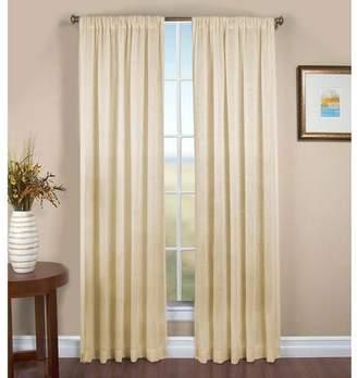 """Plow & Hearth Single Sheer Linen Window Curtain Panel w/ Rod Pocket, 52"""" W x 84"""" L"""