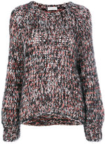 Brunello Cucinelli marl knitted sweater - women - Polyamide/Cashmere/Mohair/Wool - M