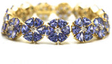 Tresor Collection - Tanzanite and Diamond Bracelet in 18kt Yellow Gold