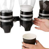 MINDREADER Mind Reader Metal Triple Wall Mounted Coffee and Sugar Dispenser
