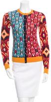Tory Burch Wool Button-Up Cardigan