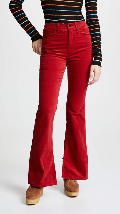 Rag & Bone The Velvet Bella Jeans