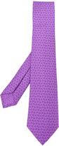 Bulgari spider print tie