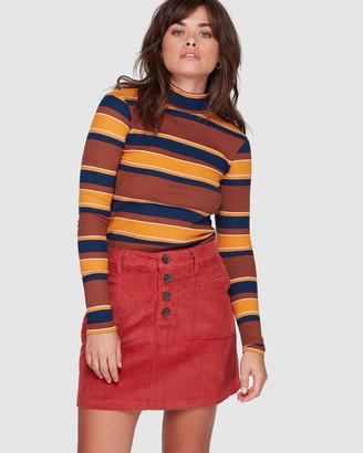 Element Ryder Cord Skirt