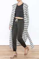 Lucy-Love Lucy Love Stripe Hooded Duster