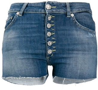 Dondup Mila cut-off denim shorts