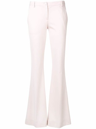 Blumarine Rosato flared trousers