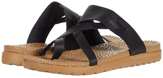 Acorn Everyweartm Riley Sandal (Black) Women's Sandals