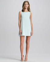 Alice + Olivia Bow-Back A-Line Dress