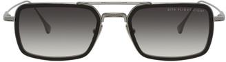 Dita Gunmetal and Black Flight-Eight Sunglasses