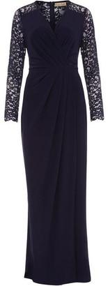 Phase Eight Elanor Lace Sleeve Maxi Dress
