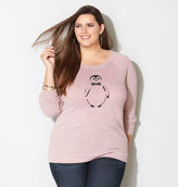 Avenue Penguin Graphic Sweatshirt
