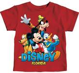 Disney Florida Little Boys Toddler Mickey Mouse & Friends T Shirt (4T)