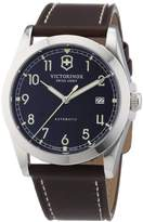 Victorinox Men's Quartz Watch Classic Infantry 241565 with Leather Strap