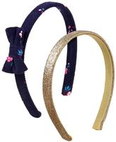 Gymboree Glitter & Floral Headbands