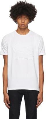 Etro White Logo T-Shirt
