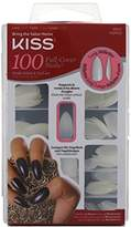 Kiss 100 Full Cover Nails Long Stiletto