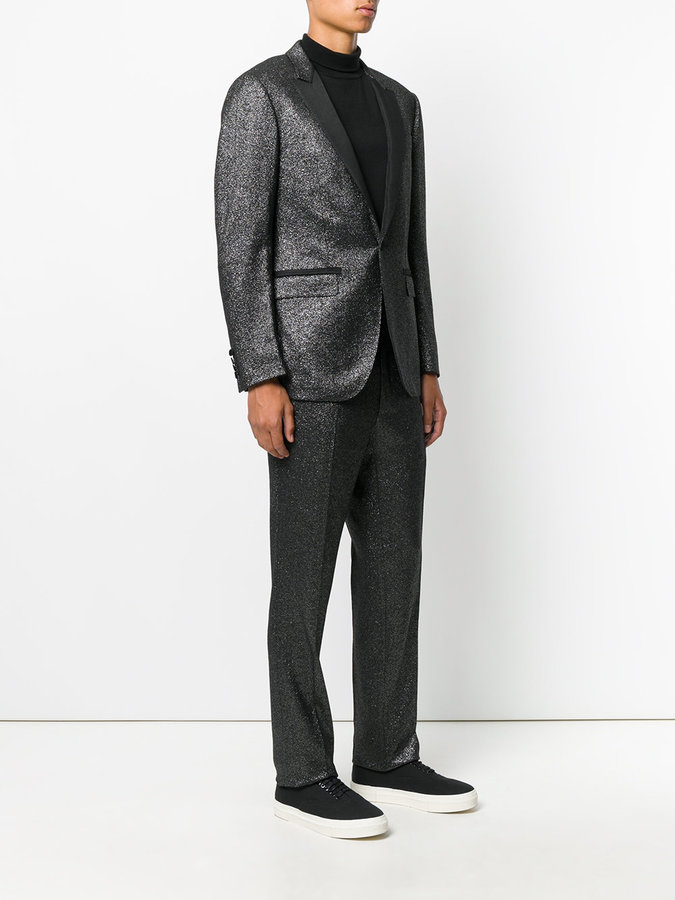 Lanvin lurex dinner suit