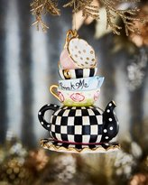 Mackenzie Childs MacKenzie-Childs Wonderland Stacking Teacups Ornament
