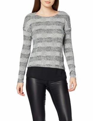 INSIDE Women's 8spln47& Long Sleeve T-Shirt Black (Negro 1) Large
