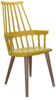 Kartell Comback Four Legs Chair - Yellow/Oak