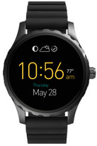 Fossil Q Marshal Touchscreen Black Silicone Smartwatch