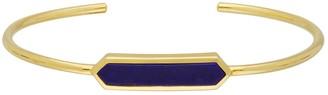 Gemondo Lapis Lazuli Open Cuff in Gold Plated Sterling Silver