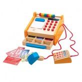 Hape Wooden Cash Register Multicoloured