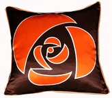 Plush Living Nook Rose Silk Pillow
