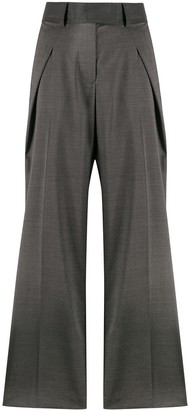 Sacai Contrasting Side Panel Trousers