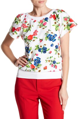 Love Moschino Fruttini Short Sleeve Sweater