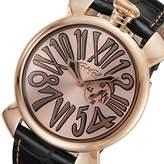 GaGa MILANO GaGaMILANO MANUALE Slim 46mm Quartz Men's Watch 50852-NEW