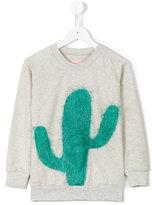 Bang Bang Copenhagen - Cool Cactus sweatshirt - kids - Cotton/Polyester/Spandex/Elastane - 3 yrs