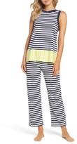 Kate Spade Women's Stripe Capri Pajamas
